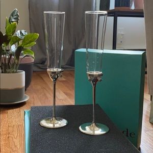BNIB Kate Spade Champagne Flutes